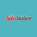 spin station logo turqoise